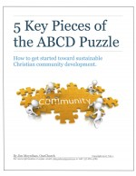 5 Key Pieces of the ABCD Puzzle with Border